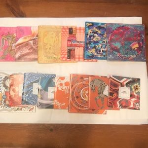 Hermes 14 scarf booklets ranging from 2006 to 2012